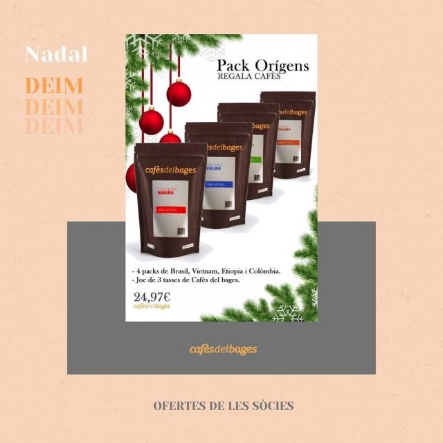  Pels que aneu a última hora amb els regals de Nadal i Reis, que sabem que sou molts, us compartim les ofertes de les nostres sòcies!  Pels amants del cafè avui comencem amb els packs i promocions de Cafès del Bages. Podreu trobar les ofertes a la seva web!! ☕️☕️  #donesemprenedores #donesinnovadores #donesmanresa #deim #donesempresaries #emprenedoria #cafesdelbages #coffeeaddict #coffee_insta #coffeetime #coffee #manresa #nadal #ofertes #promocions