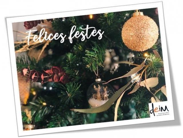 Bones Festes a totes i tots!   Des de DEIM us volem desitjar Bon Nadal! 🎄  #donesemprenedores #donesinnovadores #donesmanresa #deim #bonnadal #nadal #donesempresaries #emprenedoria #manresa