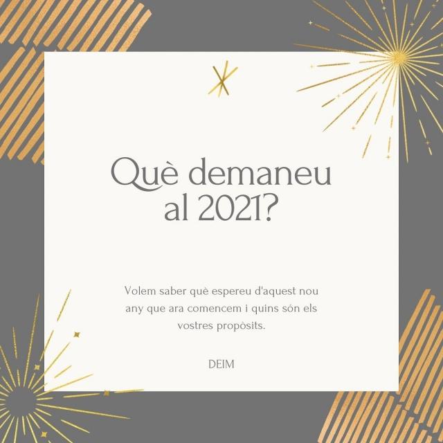 Si alguna cosa hem après a valorar l'any 2020 és la salut, la família, els amics, la feina i els petits moments ✨  Esperem que es compleixin tots els vostres desitjos i estarem encantades si els voleu compartir amb nosaltres👇🏻  BONS REIS A TOTS!!!   #donesemprenedores #donesinnovadores #donesmanresa #deim #bonnadal #nadal #donesempresaries #emprenedoria #manresa